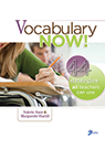 Vocabulary Now! 44 Strategies All Teachers Can Use